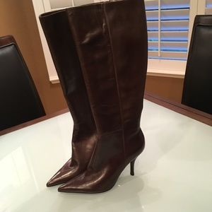 Nine West brown boots size 8